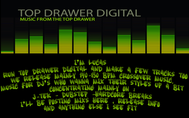 Top Drawer Digital | J-Tek | Dubstep | Hardcore Breaks |Future Jungle | Record Label